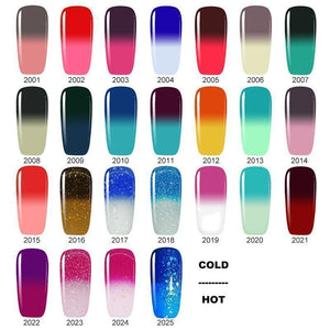 Color Changing Nail Gel Polish Beauty Clevativity