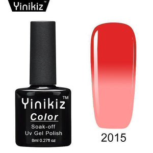 Color Changing Nail Gel Polish Beauty Clevativity 2015