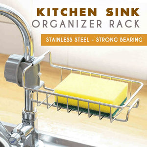 Kitchen Sink Organizer Rack Kitchen VanillaSnowball