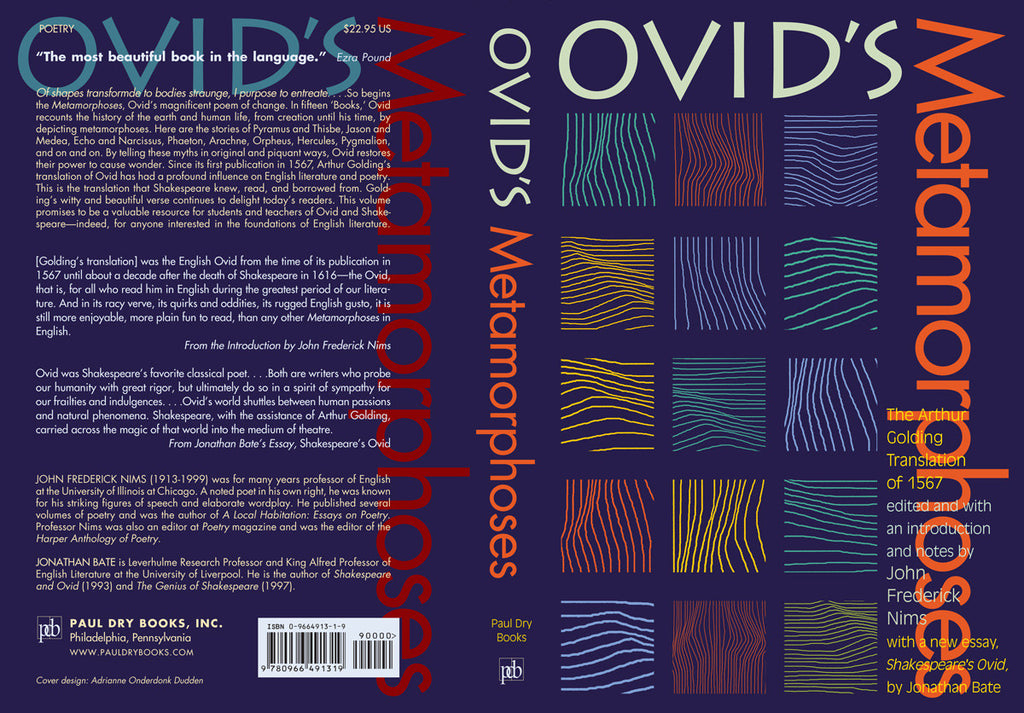 ovids devaluation of sympathy in metamorphoses Rebecca armstrong (fellow and tutor in classics, st hilda's college, oxford university) discusses the genre of ovid's poem, the metamorphoses.