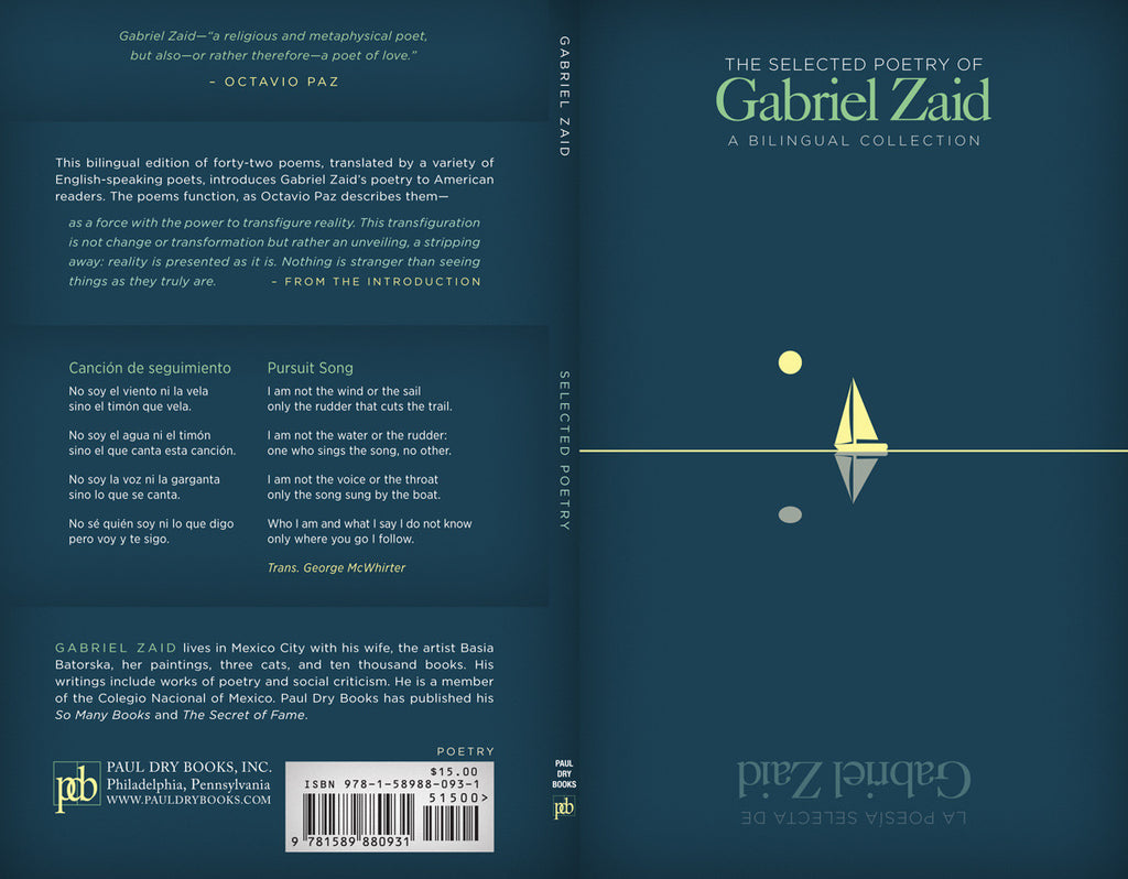 The Selected Poetry of Gabriel Zaid