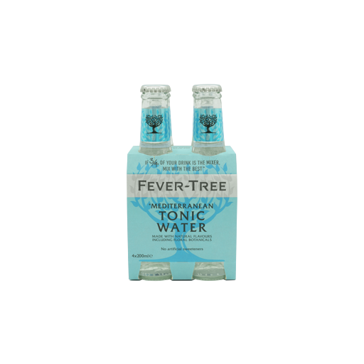 FEVER TREE MEDITERANEAN TONIC WATER 4PACK