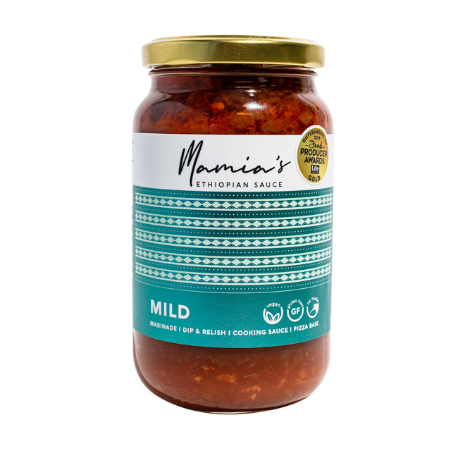 MAMIAS MILD VEGAN COOKING SAUCE EACH