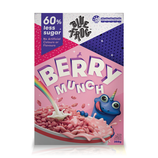 BLUE FROG BERRY MUNCH 350G