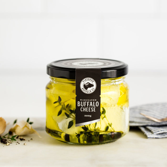 CLEVEDON VALLEY BUFFALO MARINATED BUFFALO PACKED CHEESE 300G