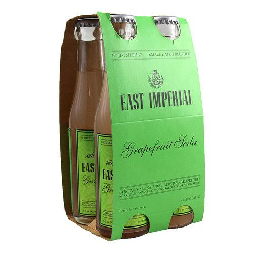 EAST IMPERIAL GRAPEFRUIT SODA 4 PACK