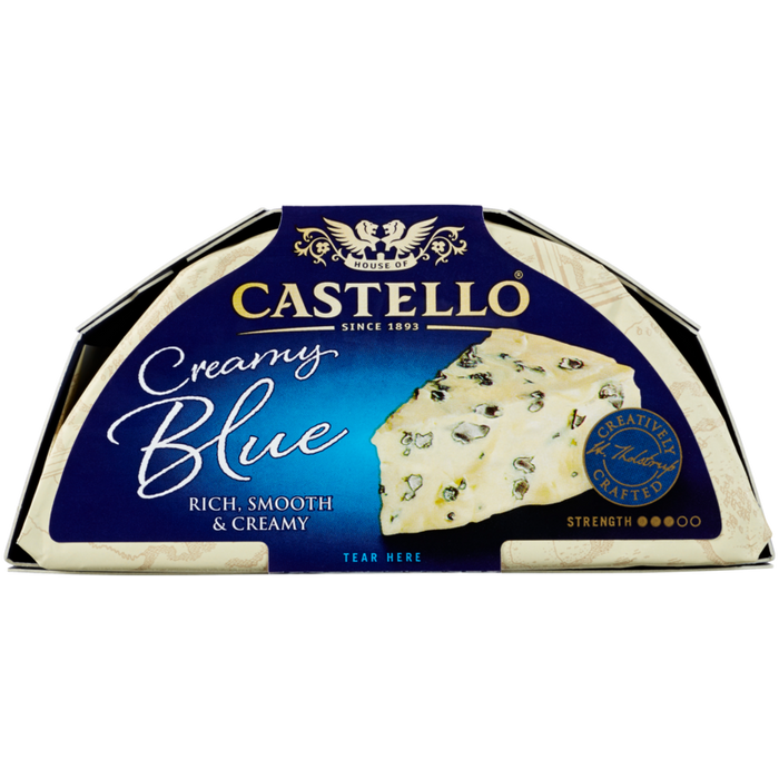 CASTELLO BLUE PACKED CHEESE 150G