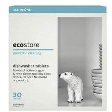ECOSTORE AUTO DISHWASH TABLETS 30 PACK