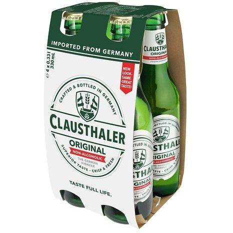 CLAUSTHALER NON ALCOHOLIC BEER 4X 330ML
