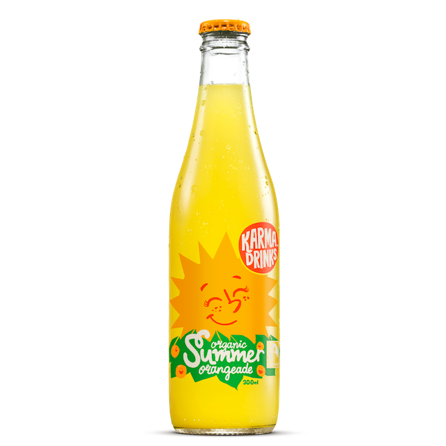 KARMA COLA SUMMER ORANGEADE 300ML