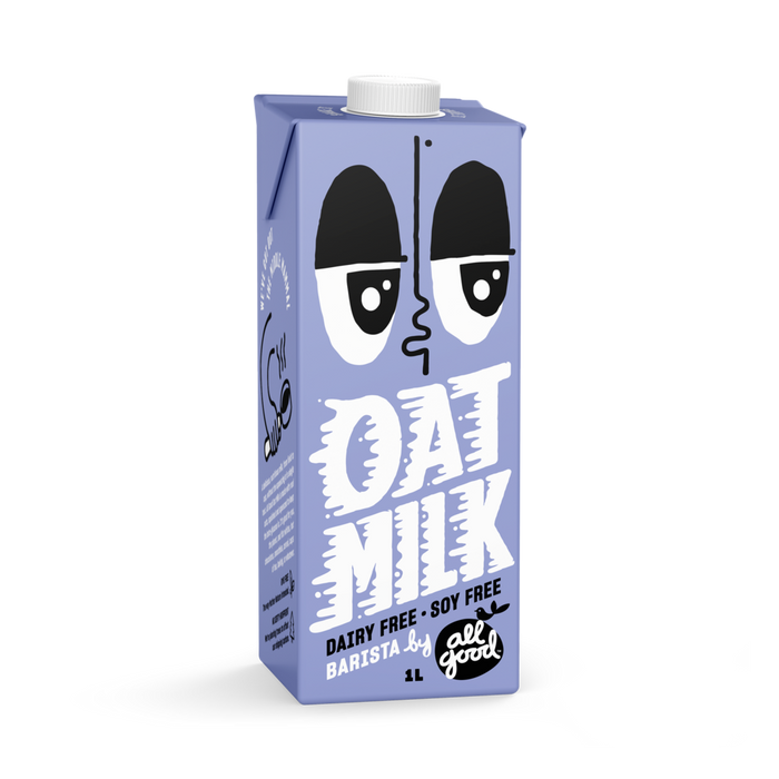 ALL GOOD BARISTA OAT MILK 1L