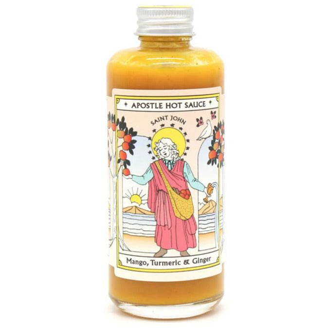 APOSTLE MANGO AND TURMERIC HOT SAUCE 150ML
