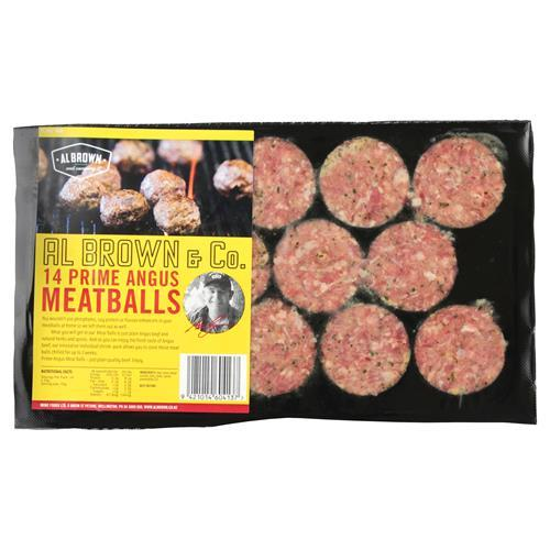 AL BROWN MEATBALLS 490G