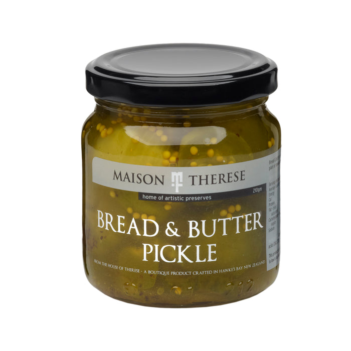 MAISON THERESE BREAD BUTTER PICKLE 210G