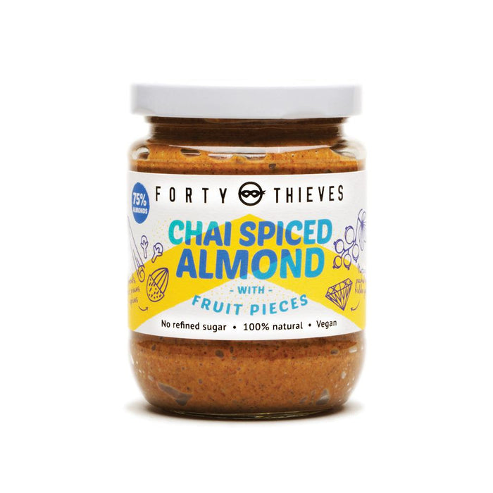 FORTY THIEVES CHAI SPICED ALMOND BUTTER 235G