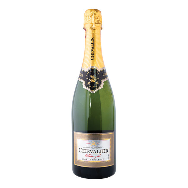 CHEVALIER MONOPOLE BLANC DE BLANC METHODE TRADITIONELLE 750ML