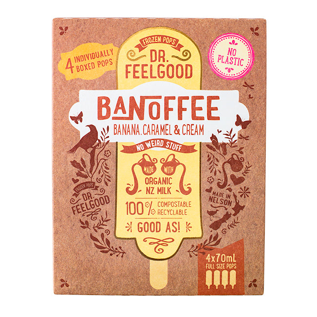 DR FEELGOOD BANOFFEE PIE 4 PACK