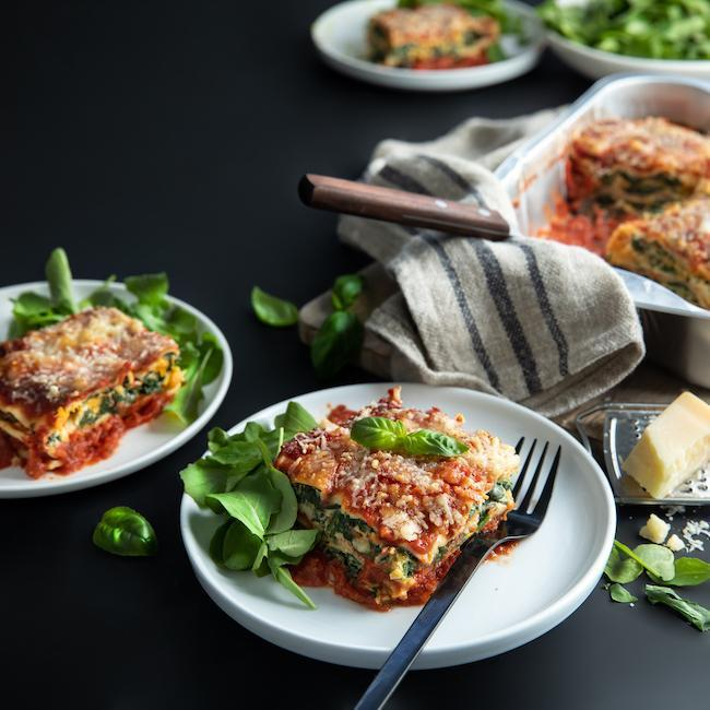 FARRO KITCHEN VEGETARIAN LASAGNE EACH