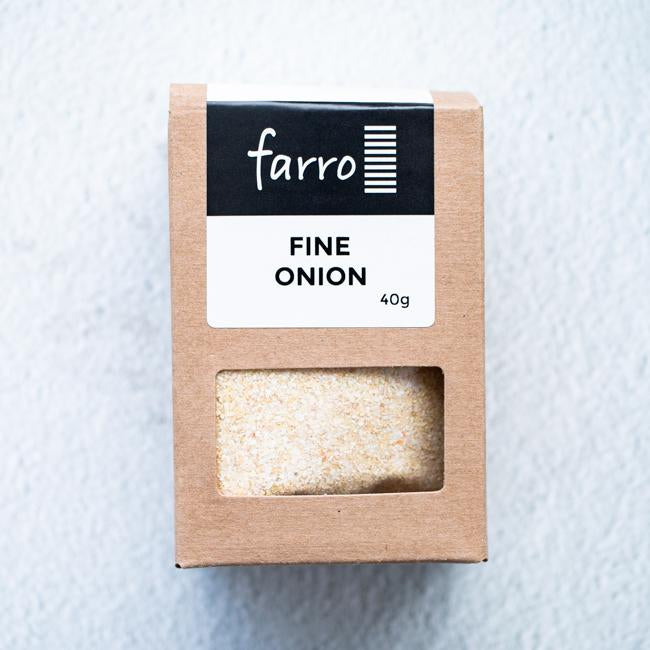 FARRO FINE ONION POWDER 40G