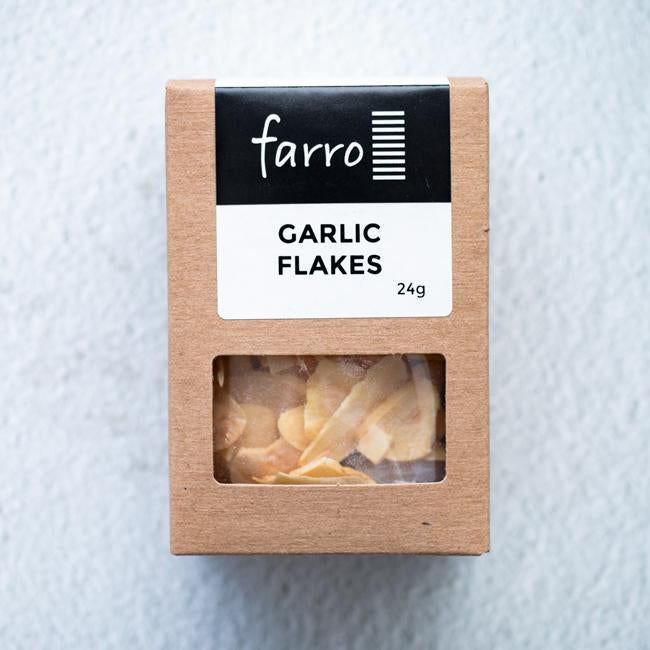 FARRO GARLIC FLAKES 24G