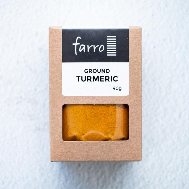 FARRO GROUND TURMERIC 40G