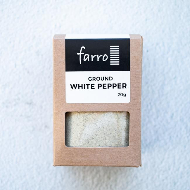 FARRO GROUND WHITE PEPPER 20G