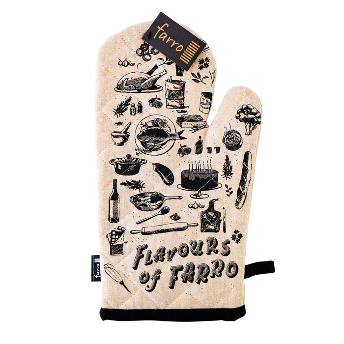FLAVOURS OF FARRO OVEN GLOVE EACH