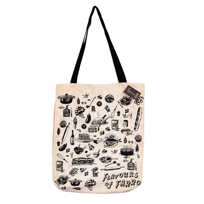 FLAVOURS OF FARRO TOTE BAG EACH