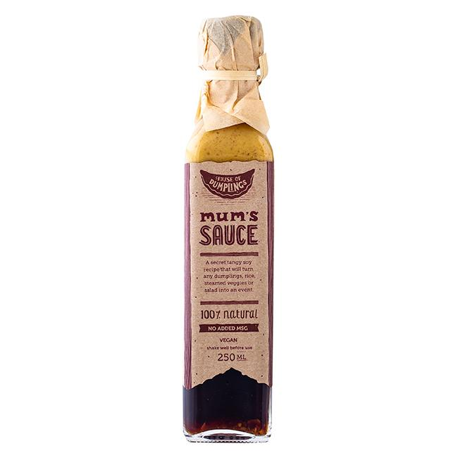 HOUSE OF DUMPLINGS MUMS SAUCE 250ML