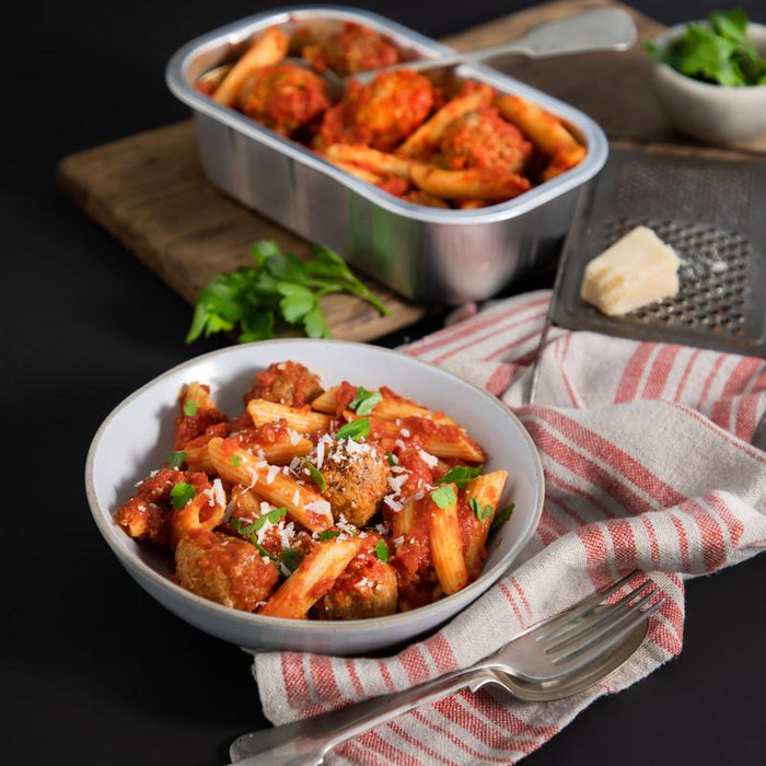 FARRO KITCHEN MEATBALLS WITH PENNE UNIT