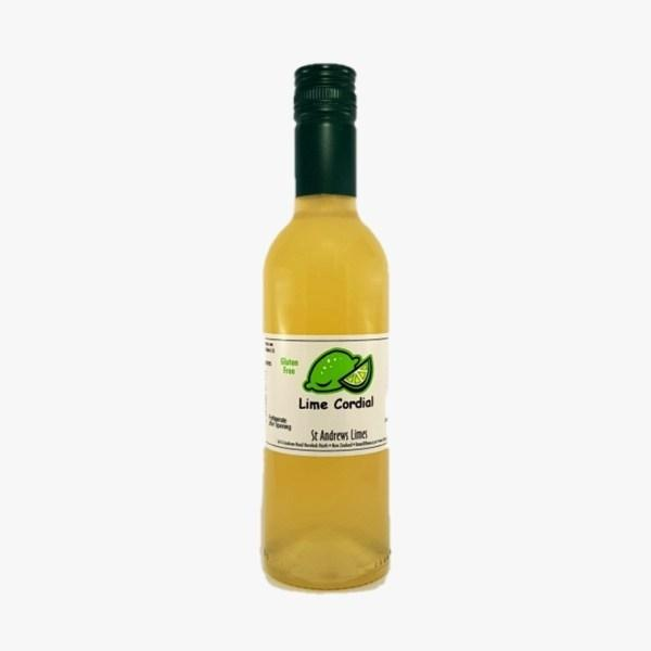 ST ANDREWS LIME CORDIAL 375ML