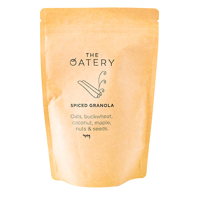 THE OATERY SPICED GRANOLA 400G