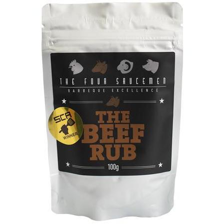 THE FOUR SAUCEMEN BEEF RUB 100G