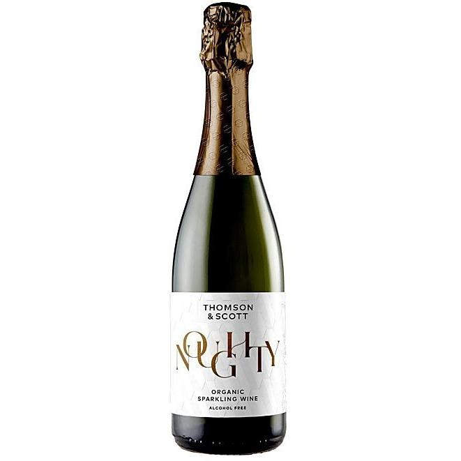 THOMSON AND SCOTT NOUGHTY ORGANIC SPARKLING WINE ALCOHOL FREE 0.05% 750ML