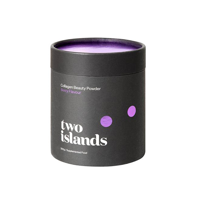 TWO ISLANDS COLLAGEN BEAUTY POWDER BERRY 300G