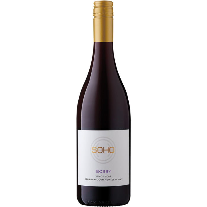 SOHO BOBBY WHITE COLLECTION PINOT NOIR 750ML