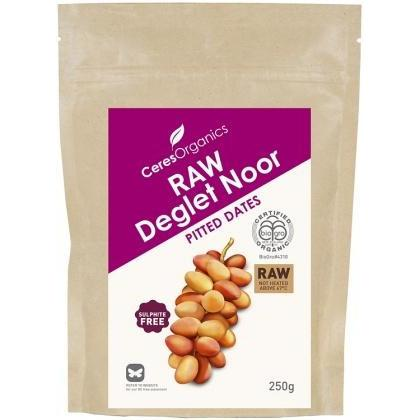 CERES DATES RAW DEGLET NOOR 250G