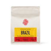 COFFEE SUPREME BRAZIL BLEND COFFEE PLUNGER GROUND 250G