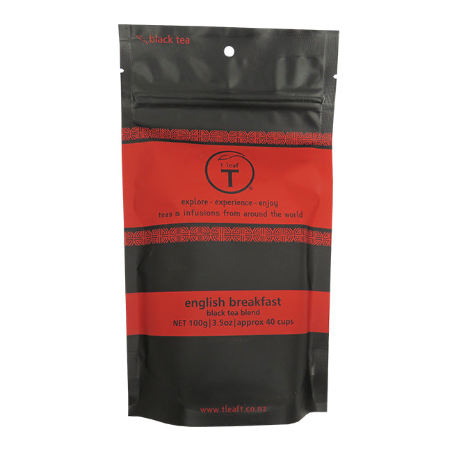 T LEAF ENGLISH BREAKFAST TEA POUCH 100G