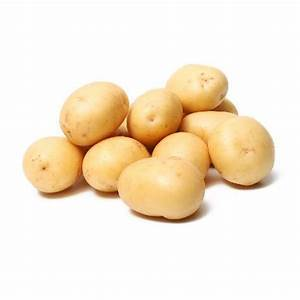 POTATOES WASHED