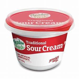 MEADOW FRESH SOUR CREAM 250G
