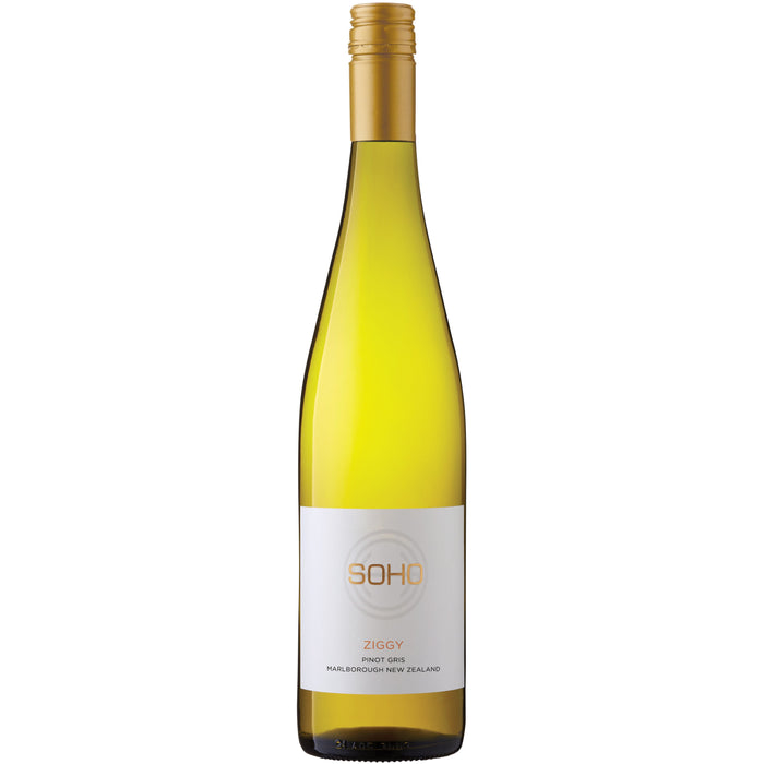 SOHO WHITE COLLECTION ZIGGY PINOT GRIS 750ML