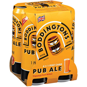 Boddingtons Pub Ale 4 Cans (16 oz)