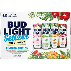 Bud Light Seltzer Out of Office Variety Pack 12 Cans (12 oz)