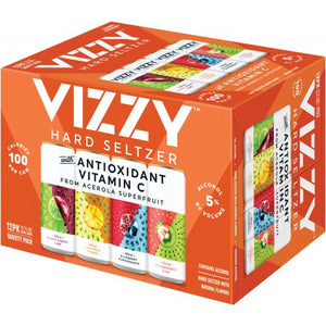 Vizzy Hard Seltzer Variety Pack 12 Cans (12 oz)