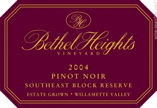 2017 Bethel Heights Pinot Noir Southeast Block