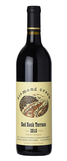 2015 Diamond Creek Cabernet Sauvignon Red Rock Terrace