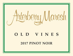 2017 Arterberry Maresh Pinot Noir Old Vines