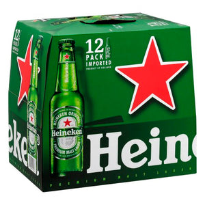 Heineken 12 Bottles (12 oz)