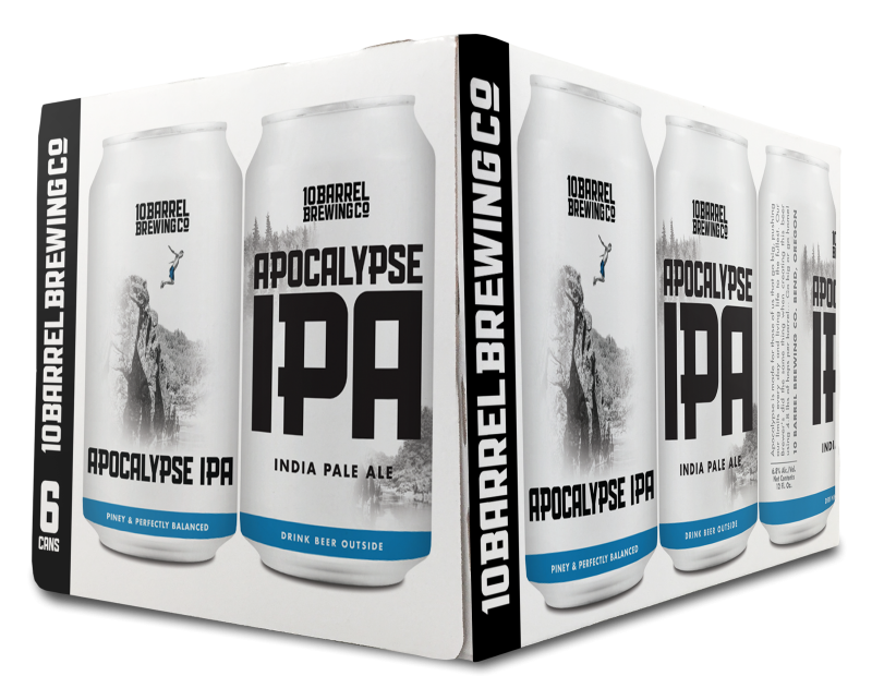 10 Barrel Brewing Apocalypse IPA 6 Cans (12 oz)